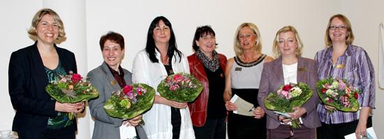 Das unternehmerinnen forum niederrhein traf sich am 04. April 14 im Klever Rilano