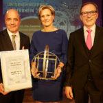 Unternehmerpreis Niederrhein 2016 für Susanne Convent-Schramm