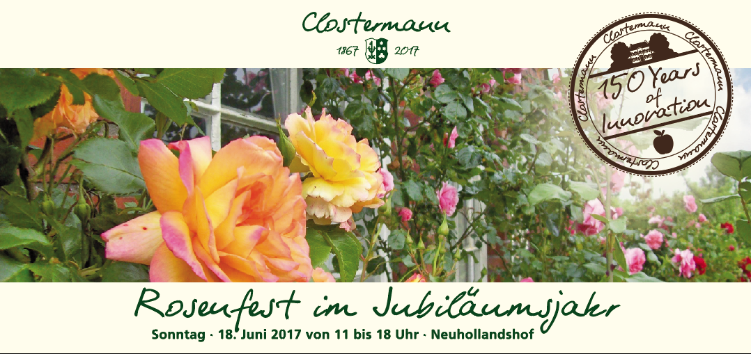 Rosenfest im Jubiläumsjahr – 150 Jahre Neuhollandshof in Bislich