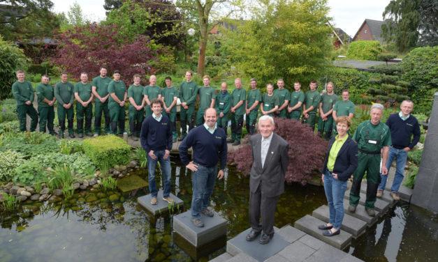 Gartenevent & Jubiläum: 60 Jahre Firma Wesser in Wesel