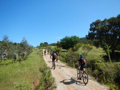 E- Bike Tour sowie Mountainbiketour Mare & Monte zum selben Termin durch die südliche Toskana 13.4. – 20.4.2018 /  19.10. – 26.10. / 26.10. – 2.11./