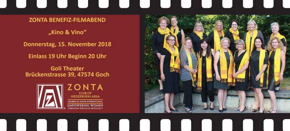 Zonta Charity Veranstaltung im Goli Theater Goch!