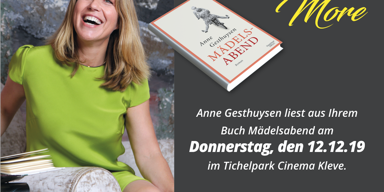 Movie & More diesmal mit Anne Gesthuysen