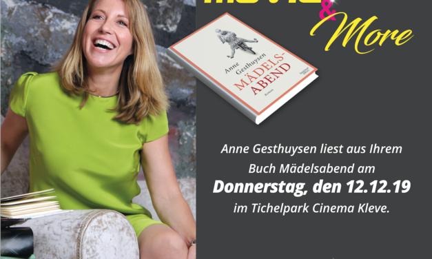 Movie & More diesmal mit Anne Gesthuysen