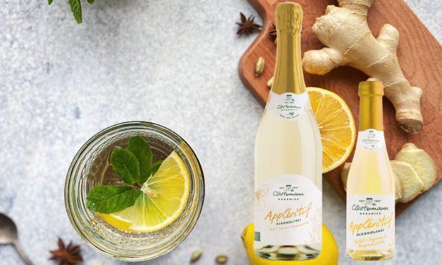 Appléritif Apfel-Ingwer & Bergamotte ALKOHOLFREI – jetzt auch in 0,2l Piccolo-Größe!